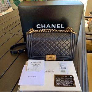 Chanel Boy Bag Black (NEW)